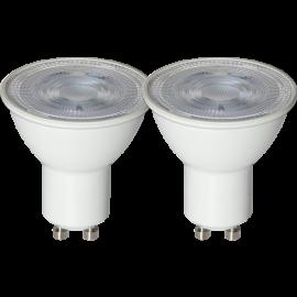LED-Lampe GU10 Spotlight Basic 2-pack , hemmetshjarta.no