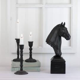 Hesthode Stående 35 cm , hemmetshjarta.no