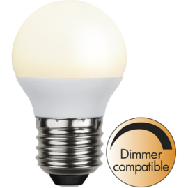 LED-Lampe E27 Ø45 Dim lm450/39w Frostet Basic Ra90 , hemmetshjarta.no