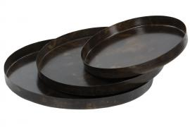 Uke 40 Brett Tulsa Brun Metal 35x3cm 3-pack , hemmetshjarta.no