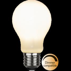 LED-Lampe E27 Ø60 Dim lm800/60w Frostet Ra90 , hemmetshjarta.no