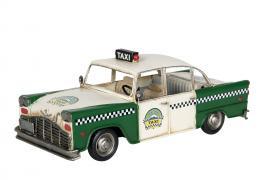 Dekorasjon Taxi Grønn 32x14x12cm , hemmetshjarta.no