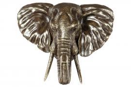Elefanthode/Vegg 56 cm - brun/cham , hemmetshjarta.no