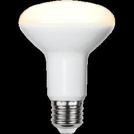 LED-Lampe E27 Reflector Ø80 lm806/60w Frostet , hemmetshjarta.no