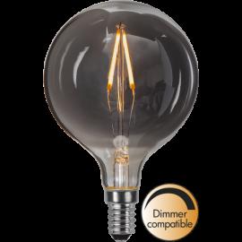 LED-Lampe E14 Decoled Smoke G80 Dim , hemmetshjarta.no