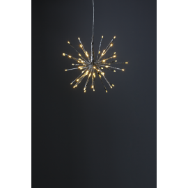 Firework Hengende Dekorasjon Sølv 30-64 , hemmetshjarta.no