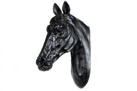 Hesthode Vegg 50 cm - svart , hemmetshjarta.no