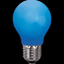 LED-Lampe E27 Outdoor Lighting A55 Blå , hemmetshjarta.no