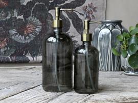 Flaske med 2 pumper 480 ml. H22 / Ø7,5 cm karbon 1 stk , hemmetshjarta.no