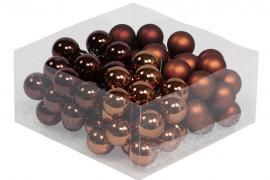 Glasskule.Bas Choklad Mix 3cm 72stk , hemmetshjarta.no