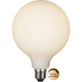 LED-Lampe E27 Double Coating Ø125 lm400/35w Frostet , hemmetshjarta.no