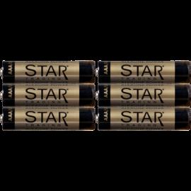 Batteri AAA 1,5V Power Alkaline 6-pack , hemmetshjarta.no
