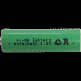 Oppladbart batteri AA 1,2V 2000 mAh Ni-MH 2-pack , hemmetshjarta.no