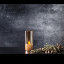 LED Blokklys M-Twinkle Amber 5x12,5 , hemmetshjarta.no