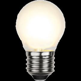 LED-Lampe E27 Ø45 lm450/39w Frostet , hemmetshjarta.no