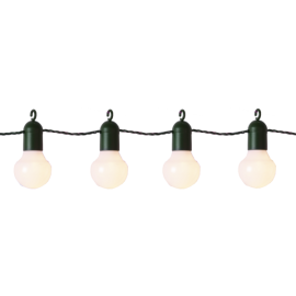 Lyslenke EL Hooky Utendørs Gul 20 Lys 570cm , hemmetshjarta.no