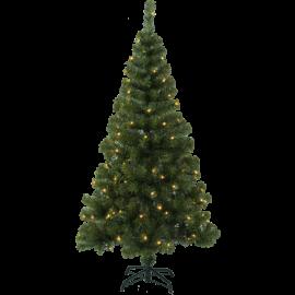 Juletre med LED Ottawa EL Utendørs Varm Hvit 110 Lys 80x150cm , hemmetshjarta.no