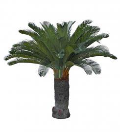 Kunstig Cycas Palme 100 cm , hemmetshjarta.no