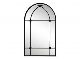 XX Speil med bue H100 / L60 / B2 cm antikk svart , hemmetshjarta.no