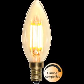 LED-Lampe E14 Soft Glow C35 Dim , hemmetshjarta.no