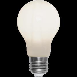 LED-Lampe E27 Ø60 lm470/40w Frostet Ra90 , hemmetshjarta.no