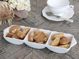 Provence - skål med 3 rum , hemmetshjarta.no