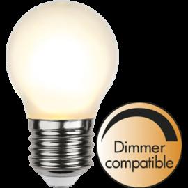 LED-Lampe E27 Ø45 Dim lm350/32w Frostet , hemmetshjarta.no