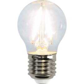 LED-Lampe E27 Ø45 lm250/25w Clear , hemmetshjarta.no