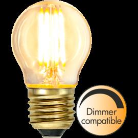 LED-Lampe E27 Soft Glow G45 Dim , hemmetshjarta.no