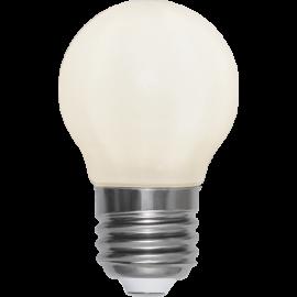 LED-Lampe E27 Ø45 lm250/25w Frostet Ra90 , hemmetshjarta.no