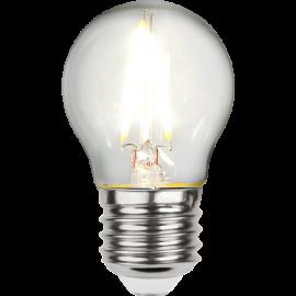 LED-Lampe E27 Ø45 lm270/26w Clear , hemmetshjarta.no