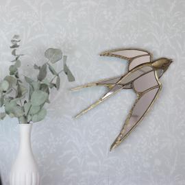 Speil/Svale 39 cm - Antikk Gull , hemmetshjarta.no
