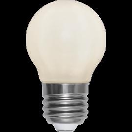 LED-Lampe E27 Ø45 lm450/39w Frostet Ra90 , hemmetshjarta.no