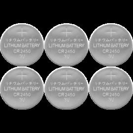 Batteri CR2450 6-pack , hemmetshjarta.no