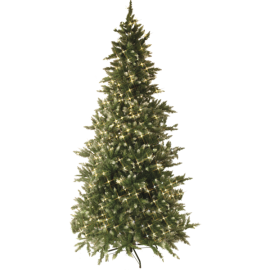 XX Juletre med LED Vancouver EL Utendørs 550 Lys 130x225cm , hemmetshjarta.no