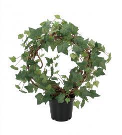 Kunstig Eføy Plante på bue 55 cm , hemmetshjarta.no