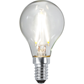 LED-Lampe E14 Ø45 lm270/26w Clear , hemmetshjarta.no