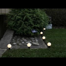 Solcellelys lyslenke Globus , hemmetshjarta.no