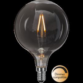 LED-Lampe E14 Decoled Smoke G95 Dim , hemmetshjarta.no