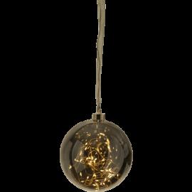 Glasskule Glow Sølv 15-40 , hemmetshjarta.no
