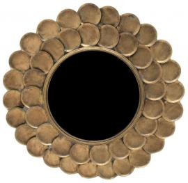 Speil/Rund 75 cm - Antikk Messing , hemmetshjarta.no