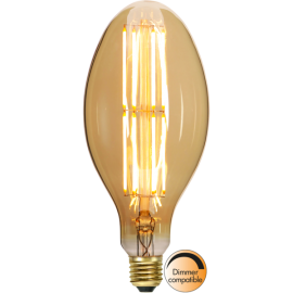 LED-Lampe E27 Industrial Vintage C100 Dim , hemmetshjarta.no
