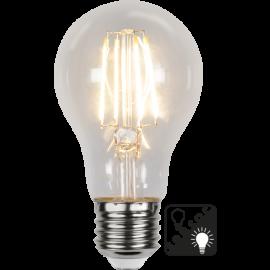 LED-Lampe E27 Sensor Ø60 lm800/60w Clear , hemmetshjarta.no