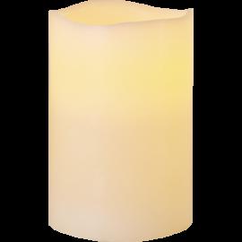 Batteridrevet Blokklys LED Big Elfenben 10x15cm , hemmetshjarta.no