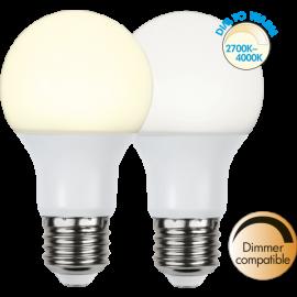 LED-Lampe E27 Ø60 Dim To Warm lm806/60w Frostet , hemmetshjarta.no
