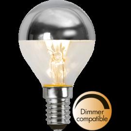 LED-Lampe E14 Top Coated Ø45 Dim lm250/25w Silver , hemmetshjarta.no