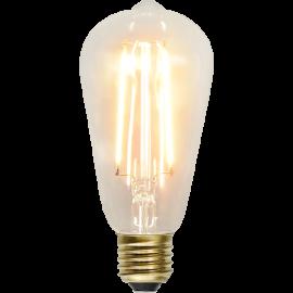 LED-Lampe E27 Soft Glow ST64 , hemmetshjarta.no