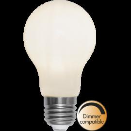 LED-Lampe E27 Ø60 Dim lm720/55w Frostet Ra90 , hemmetshjarta.no