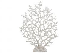 Korall Hvit Poly 2x36x47cm , hemmetshjarta.no
