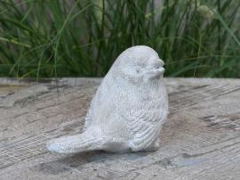 Fugl til pynt H9 / L12.5 / W7 cm Fransk grå , hemmetshjarta.no